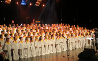Concert chœur d'écoles