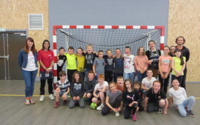 Les CM se perfectionnent au Handball