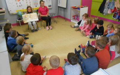 Atelier lecture des CM en maternelle