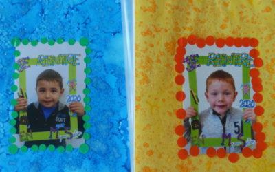 Décor du cahier de vie en maternelle