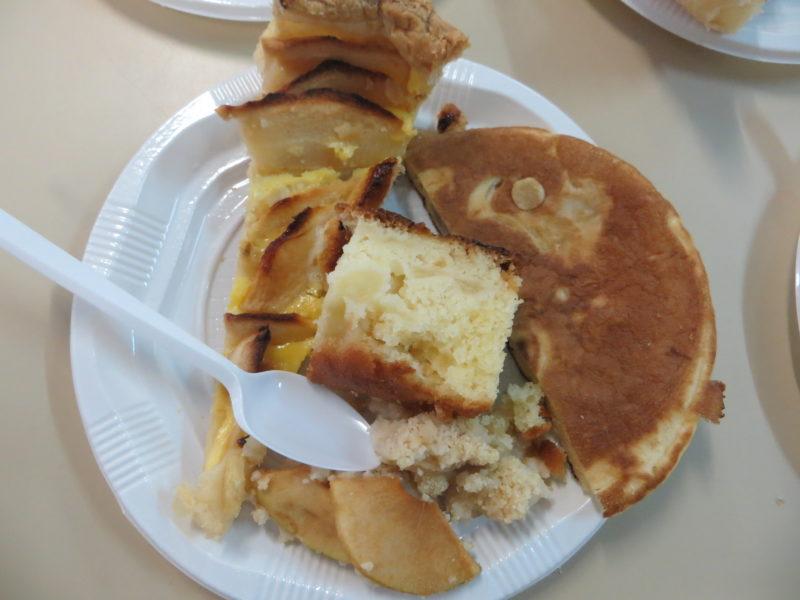 Semaine du Goût: dégustation de recettes à la pomme