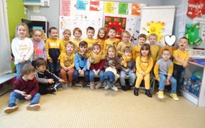 Journée jaune en maternelle
