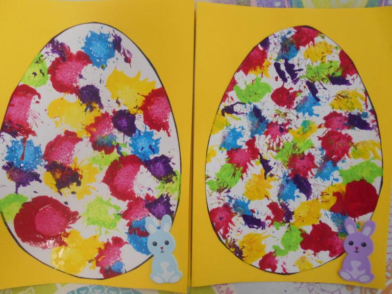 Bricolage de Pâques en maternelle