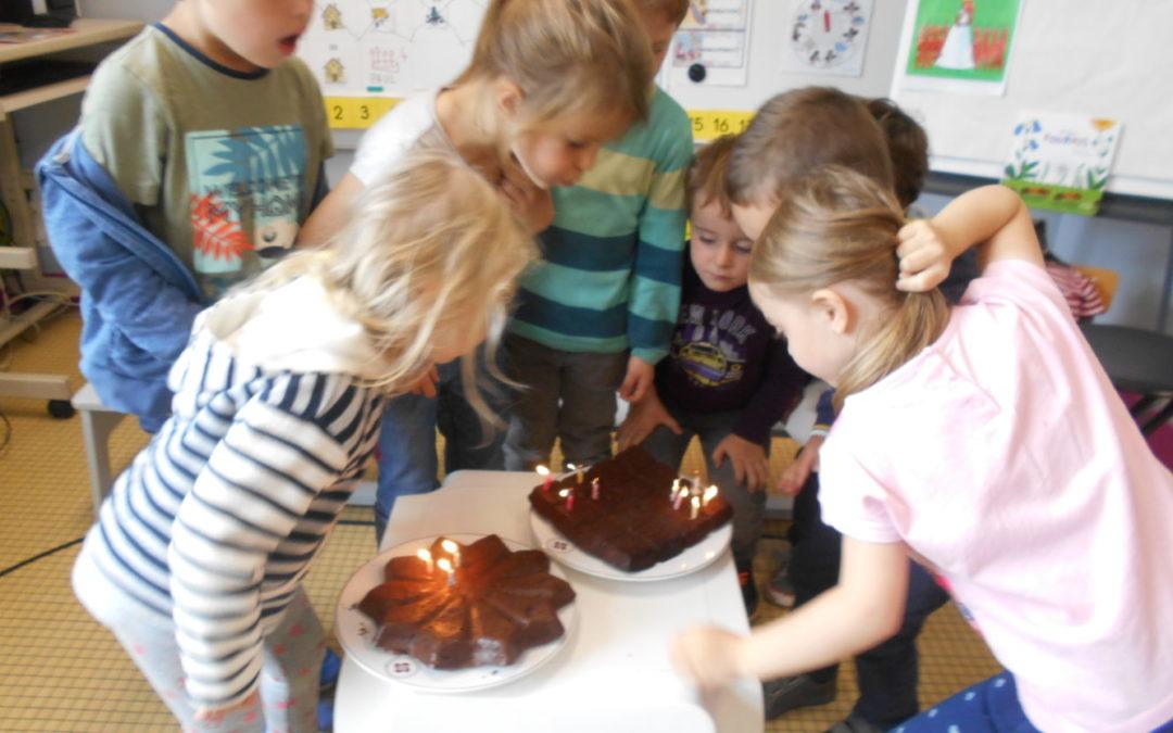 Les anniversaires en maternelle