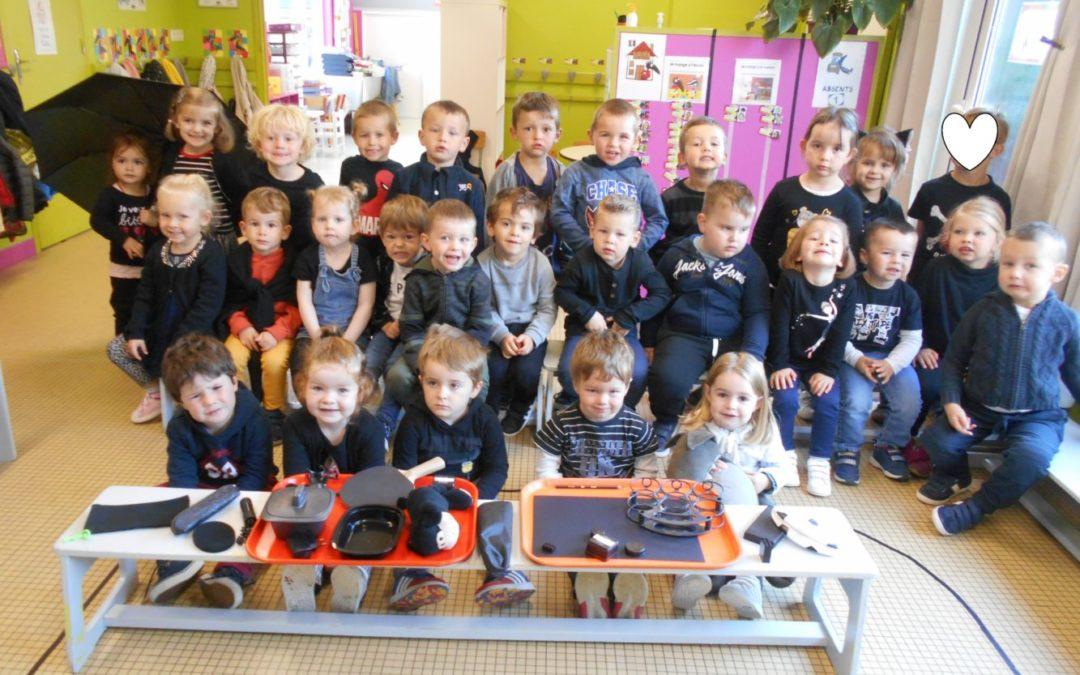 Journée des couleurs en maternelle