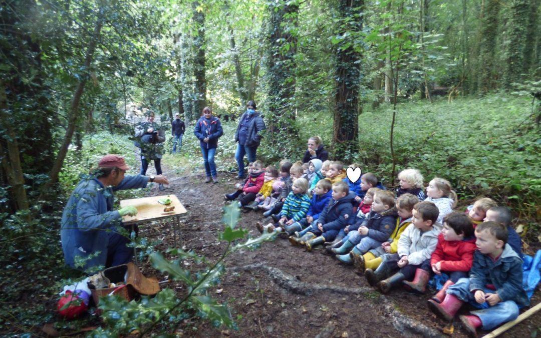 Balade contée en forêt pour les maternelles CP